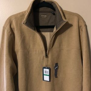 Arrow 1/2 zip Sarance  fleece men's size L